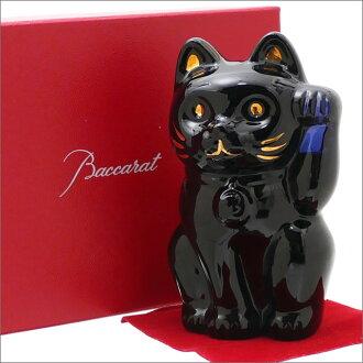 ( Baccarat ) Baccarat CRYSTAL cat NAVY 290 - 001371 - 011x