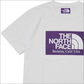 THE NORTH FACE PURPLE LABEL ザ・ノースフェイス パープルレーベル H S Logo Tee Tシャツ WHITE 200007909040 【新品】