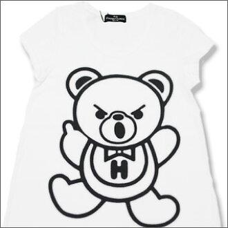 癔症患者魅力 (Louis Vuitton) 熊长 t 恤 (女性)