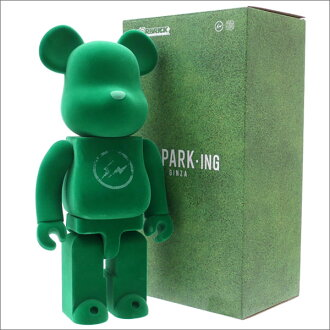 THE PARK ING GINZA x MEDICOM TOY BE@RBRICK fragment design 400% (base-up brick) (figure skating) GREEN 283-000416-015+