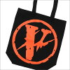 VLONE x Fragment Design CANVAS TOTE JAIL V PARKING BLACK 277-002365-011+ THE PARK ING GINZA
