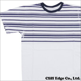 the POOL aoyama ザプール青山 YOKOSHIMA OVERPRINT TEE Tシャツ WHITExNAVY 200006679020 【新品】