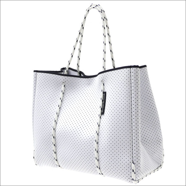 State of Escape(ステイトオブエスケープ) Flying Solo Tote Bag (トートバッグ) WHITExWHITE 277-002424-010-【新品】 Ron Herman(ロンハーマン)