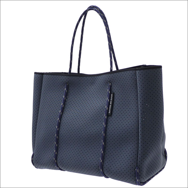 State of Escape(ステイトオブエスケープ) Flying Solo Tote Bag (トートバッグ) CHARCOAL GRAY 277-002425-012-【新品】 Ron Herman(ロンハーマン)