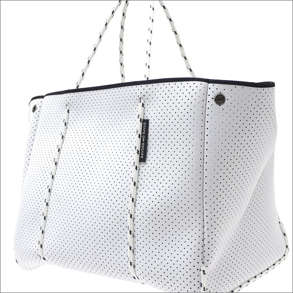State of Escape(ステイトオブエスケープ) The Escape Tote Bag (トートバッグ) WHITExWHITE 277-002427-010-【新品】 Ron Herman(ロンハーマン)