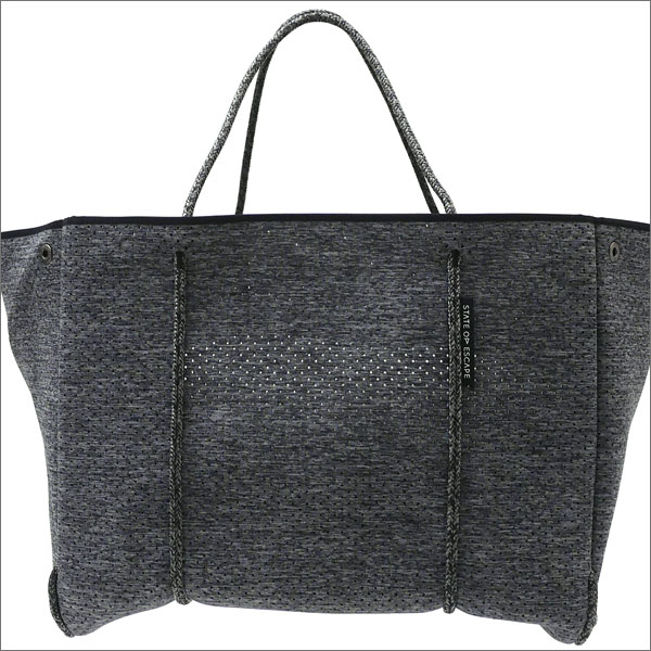 State of Escape(ステイトオブエスケープ) The Escape Tote Bag (トートバッグ) D.GRAY 277-002427-012-【新品】 Ron Herman(ロンハーマン)