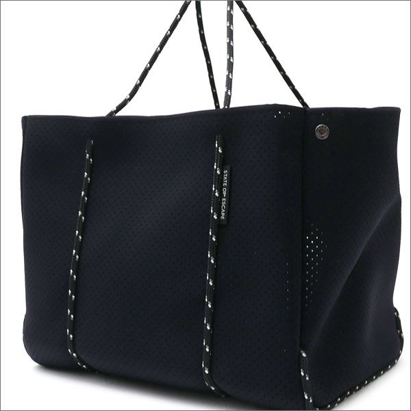 State of Escape(ステイトオブエスケープ) The Escape Tote Bag (トートバッグ) BLACK 277-002427-011-【新品】 Ron Herman(ロンハーマン)