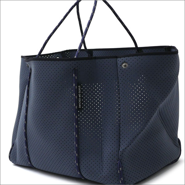 State of Escape(ステイトオブエスケープ) The Escape Tote Bag (トートバッグ) CHARCOAL GRAY 277-002428-012-【新品】 Ron Herman(ロンハーマン)