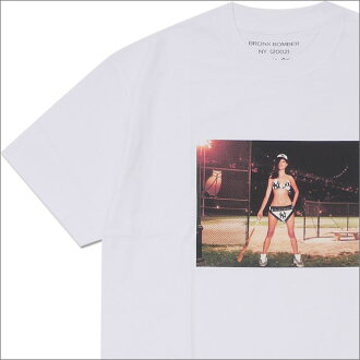 Ron Herman (LONDON HEARTS man) BRONX BOMBER Photo TEE (T-shirt) WHITE 200-007713-050-
