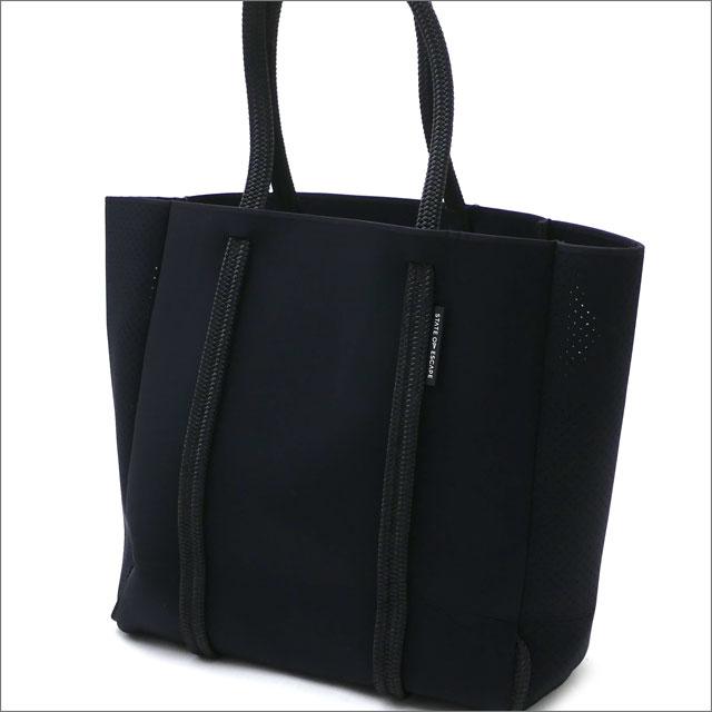 RHC Ron Herman(ロンハーマン) x State of Escape(ステイトオブエスケープ) Mr.City Tote Bag (トートバッグ) BLACK 277-002481-011x【新品】