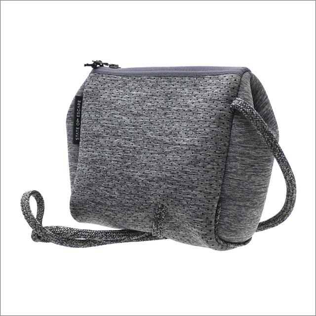 RHC Ron Herman(ロンハーマン) x State of Escape(ステイトオブエスケープ) Festival Mini Crossbody Bag CHALCOAL 277-002503-012+【新品】