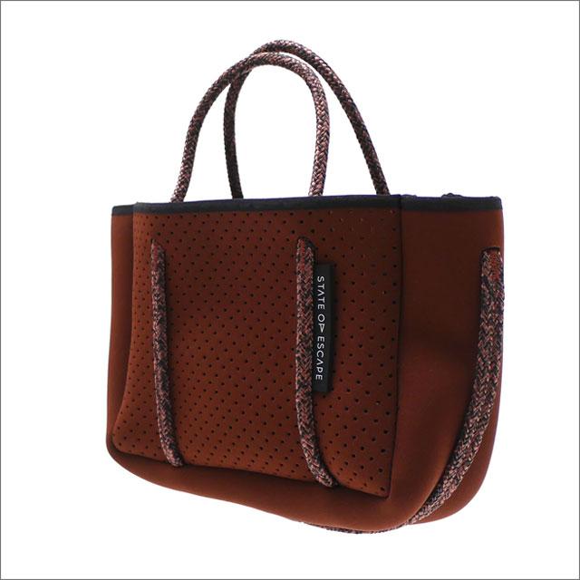 RHC Ron Herman(ロンハーマン) x State of Escape(ステイトオブエスケープ) MICRO Shoulder Bag (ショルダーバッグ) BROWN 277-002514-016x【新品】