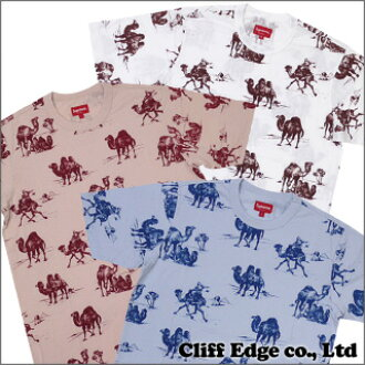 SUPREME Camels T shirt BLUE/PINK/WHITE 200-004513-040-