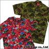 SUPREME Hawaiian Shirt[短袖衬衫]RED/KHAKI 215-001075-053-