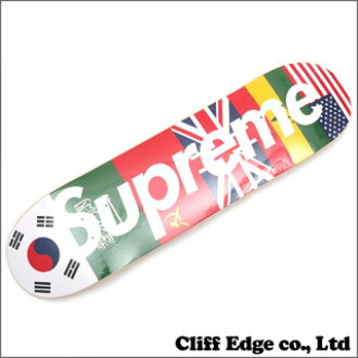 SUPREME Flags Skateboard(甲板)MULTI 299-000587-019x