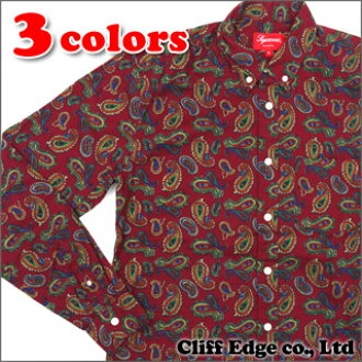 SUPREME Paisley Shirt(페이즈리 긴소매 셔츠) 216-001041-033 x
