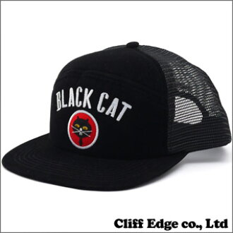 SUPREME Black Cat Military Mesh Back(盖子)BLACK 251-000707-011x