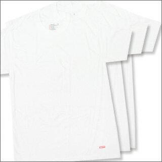 SUPREME x Hanes Tagless Tee 3-pack(Tシャツ3枚セット) WHITE 200-005622-030x【新品】