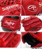 SUPREME Rawlings Glove[惯用右手的手套]RED 290-002057-013-