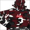 211-000299-049 红色迷彩高框徽标套衫 (boxlogoswettoparker) +