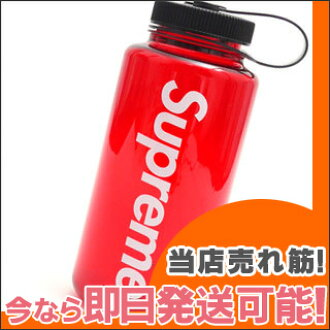 SUPREME Nalgene Bottle (water bottle) RED 290-002971-013+