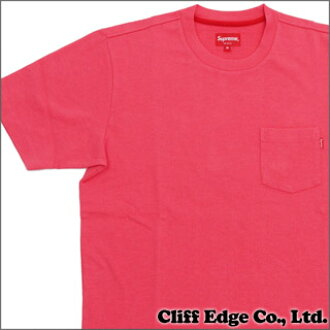 SUPREME Pocket Tee (shirt pocket) PINK 200 - 000000 - 043x