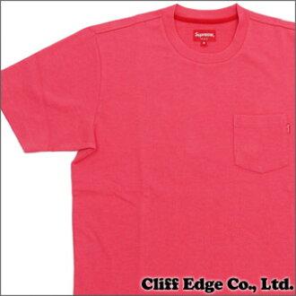 最高口袋 Tee,口袋 T 恤粉红 200-000000-043 x