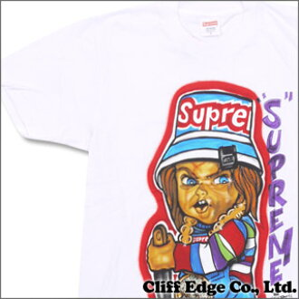 SUPREME Forty Deuce TEE (T-shirt) WHITE 200-006104-030+