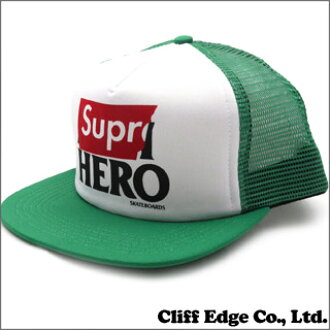 SUPREME x ANTIHERO Mesh Back 5-Panel (메쉬 캡) KELLY GREEN 251-000803-119+