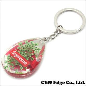 最高 (shupurimu) 撕裂滴玫瑰钥匙扣 (钥匙扣) (钥匙扣) 红色 290-003366-013 x