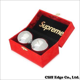 promo code 8247f f513b SUPREME Baoding Balls 2 pieces (healthy body ball) 290 REDxSILVER - 003580  - 013x