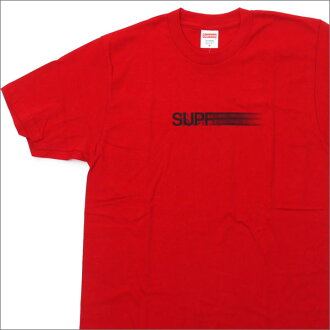 SUPREME Motion Logo Tee (motion logos) (T shirt) RED 200-006910-143 d.