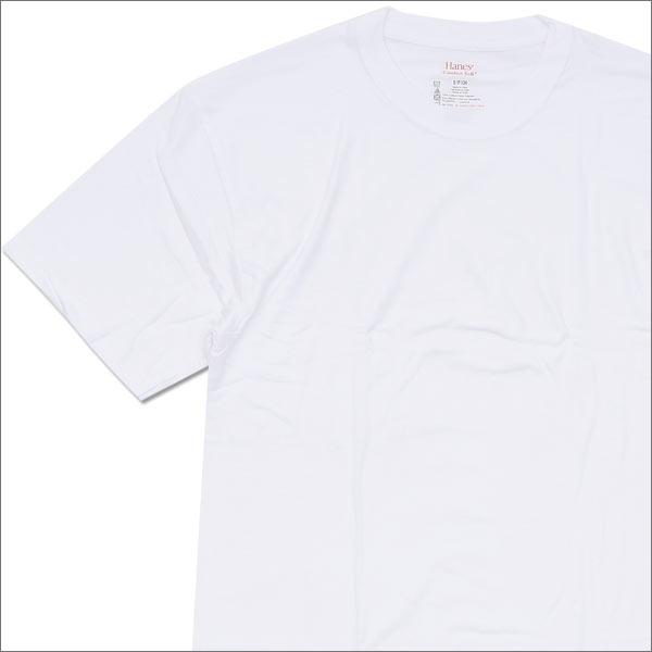 SUPREME(シュプリーム) x Hanes(ヘインズ) Tagless Tee (Tシャツ) WHITE 200-005622-930x【新品】