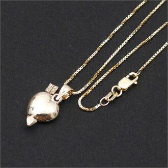 SUPREME(shupurimu)Gold Heart and Arrow Pendant(吊坠)(项链)267-000201-018+