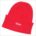 SUPREME(シュプリーム) Overdyed Ribbed Beanie (ビーニー)(ニットキャップ) RED 253-000375-013+【新品】
