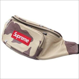 SUPREME(shupurimu)Leather Waist Bag(腰包)DESERT CAMO 275-000156-016+