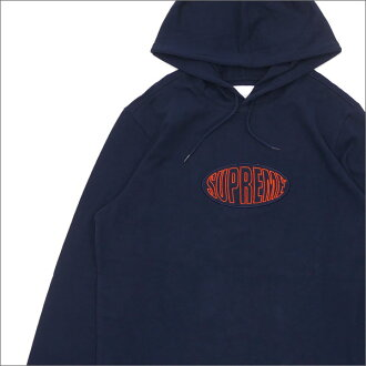 SUPREME Warp Hooded L/S Top (parka) NAVY 211-000483-057+