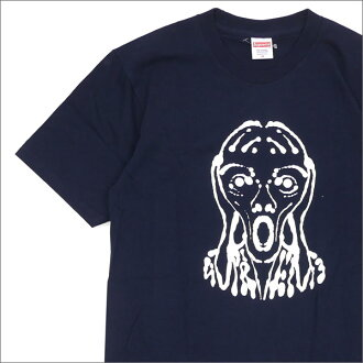 SUPREME(shupurimu)Scream Tee(T恤)NAVY 200-007343-147+