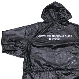 【14:00までのご注文で即日発送可能】 シュプリーム SUPREME x コムデギャルソン シャツ COMME des GARCONS SHIRT Fishtail Parka フィッシュテールパーカー BLACK 225000307141 【新品】