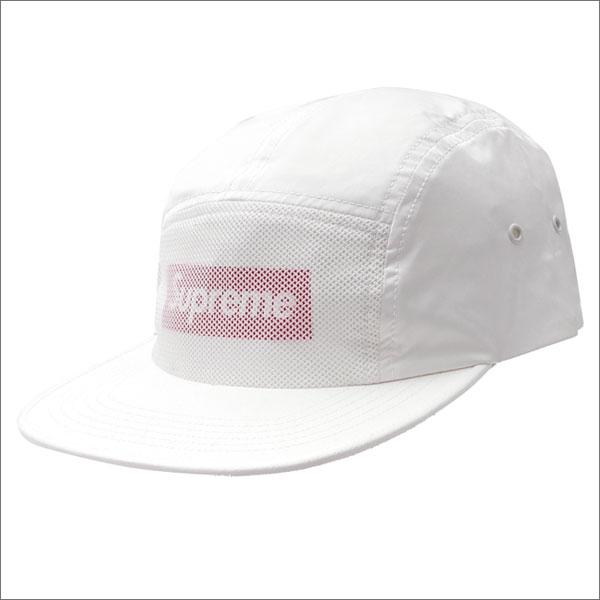 SUPREME(シュプリーム) Front Panel Mesh Camp Cap (キャンプキャップ) WHITE 265-000877-110 418-000129-010+【新品】