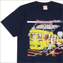 SUPREME(シュプリーム) Limonious Punany Train Tee (Tシャツ) NAVY 200-007494-147+【新品】