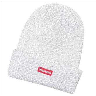 4e03a4d6361 Cliff Edge  SUPREME Reflective Loose Gauge Beanie WHITE 253-000401 ...