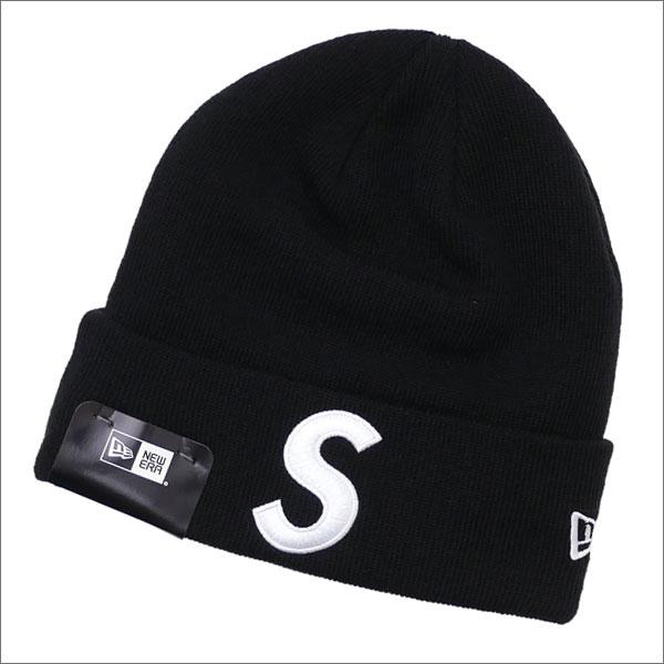 SUPREME(シュプリーム) New Era S Logo Beanie (ビーニー) BLACK 253-000411-011+【新品】