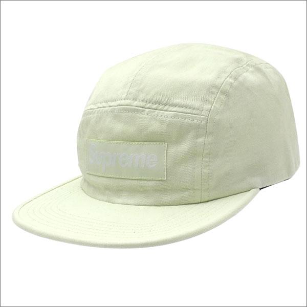SUPREME(シュプリーム) Side Zip Camp Cap (キャンプキャップ) PALE LIME 265-000929-018+【新品】