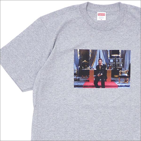 SUPREME(シュプリーム) x Scarface(スカーフェイス) Friend Tee (Tシャツ) GRAY 200-007642-042+【新品】