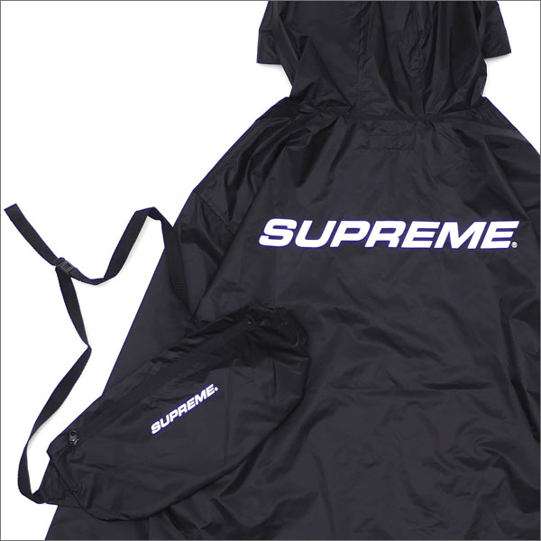 SUPREME(シュプリーム) Packable Ripstop Pullover (ジャケット) BLACK 225-000330-031+【新品】