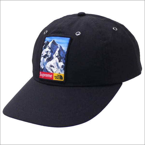 SUPREME(シュプリーム) x THE NORTH FACE(ザ・ノースフェイス) Mountain 6-Panel Hat (6パネルキャップ) BLACK 265-000964-011+【新品】