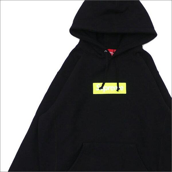 【合計15,000円(税抜)以上のお買い上げでステッカープレゼント!】 SUPREME(シュプリーム) Box Logo Hooded Sweatshirt (ボックスロゴ)(BOXロゴ)(スウェットパーカー) BLACK 211-000530-141+【新品】