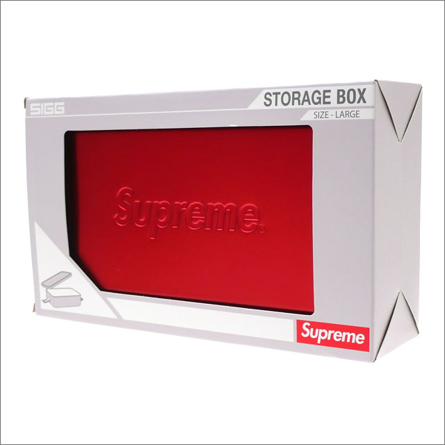 シュプリーム SUPREME SIGG Large Metal Box Plus コンテナ アルミボックス RED 290004610013 【新品】