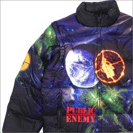 シュプリーム SUPREME x アンダーカバー UNDERCOVER x Public Enemy Puffy Jacket ダウンジャケット ダウンベスト MULTI 226000198049 418000200059 【新品】